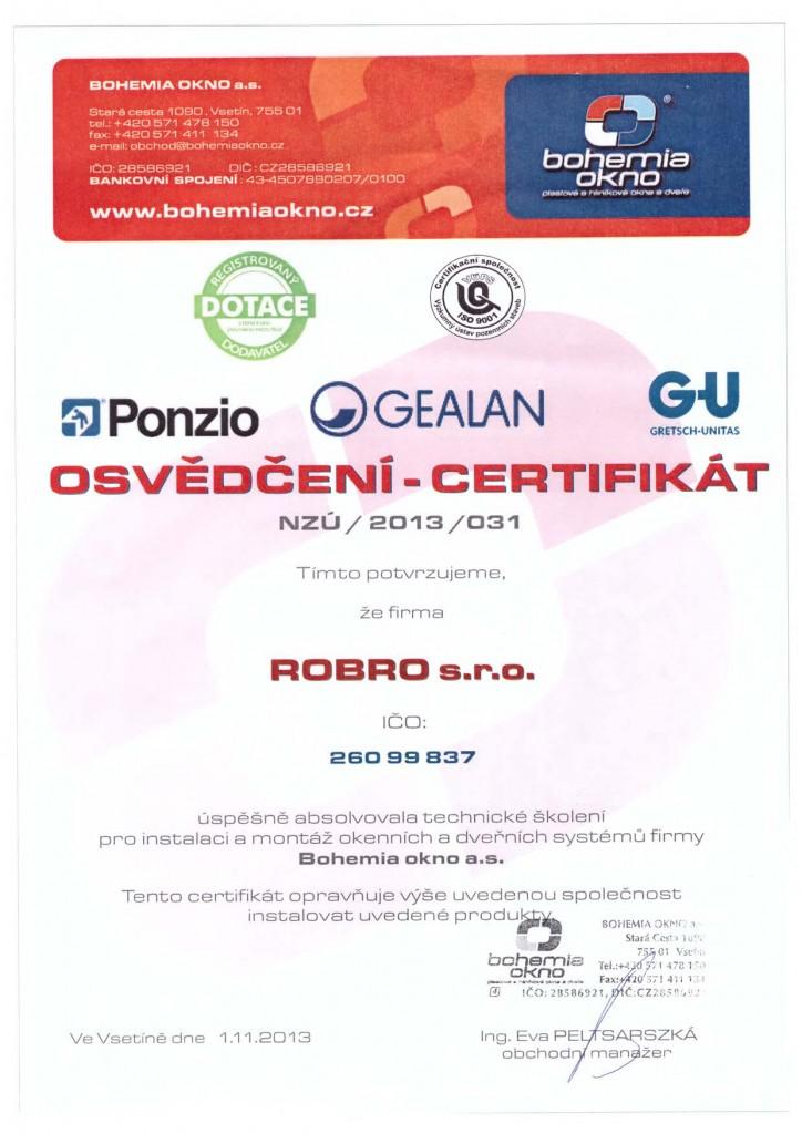 certifikat-bohemia-okna